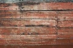 Voie de garage en bois Images stock