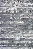 Voie de garage en bois de peinture d'épluchage vieille Images libres de droits