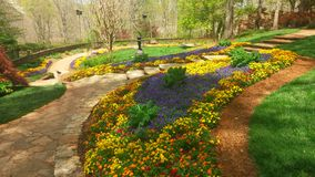 Voie de jardin Photographie stock libre de droits