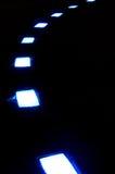 Voie de lampe Photos stock