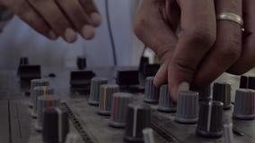 Voie de mélange du DJ banque de vidéos