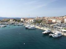 Voie de maritime de côté d'Ajaccio Photographie stock libre de droits