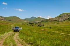 Voie de montagne Photo libre de droits