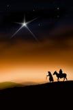 voie de Noël Photographie stock