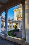 Voie de parc de Balboa au pavillon d'organe photo libre de droits