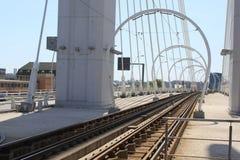 Voie de tramway Images stock