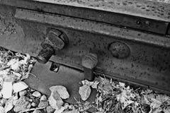 Voie de voie ferrée Image libre de droits