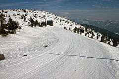 Voie en montagnes de Krkonose Image libre de droits