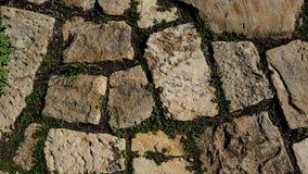 Voie en pierre classique Image libre de droits