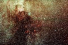 Voie laiteuse dans le Cygnus Photos stock