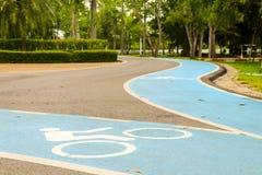 Voie pour bicyclettes Image stock