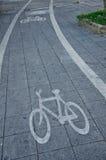 Voie pour bicyclettes Photographie stock libre de droits