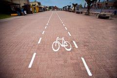 Voie pour bicyclettes image libre de droits