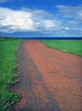 voie rouge Image libre de droits