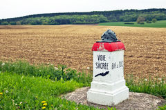 Voie sacre stone Royalty Free Stock Images