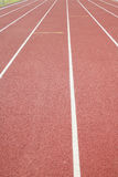 Voie sportive Photo stock