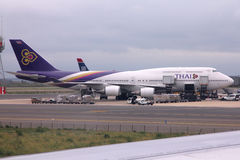 Voies aériennes thaïes Images stock