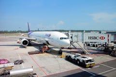 Voies aériennes thaïes Photos stock