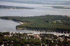 Voies d'eau du Rhode Island Photographie stock libre de droits
