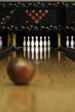 Voies de bowling - orientées ! photos stock