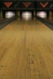 Voies de bowling - victoire ou défaite ? images stock