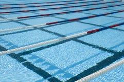 Voies de piscine Photo libre de droits
