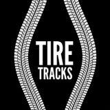 Voies de pneu Image libre de droits