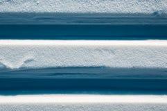 Voies des skis Images libres de droits