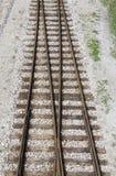 Voies ferroviaires Photographie stock