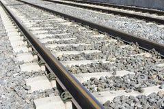 Voies ferroviaires Photo libre de droits