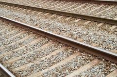 Voies ferroviaires Photos stock