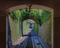 Voies funiculaires de Bergame, Italie photos stock