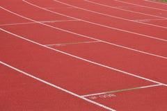 Voies Sprinting photographie stock libre de droits