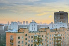 Voikovskaya district. Moscow Royalty Free Stock Images