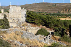 Voila medieval settlement at Crete island. Old medieval settlement of Voila at Crete island in Greece Stock Photography