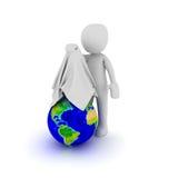 Voila the world Royalty Free Stock Photo