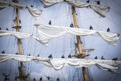 VOILE Amsterdam 2015 photographie stock