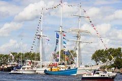 Voile Amsterdam 2010 - Voile-dans le défilé Images stock