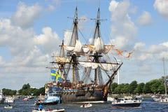 Voile Amsterdam Götheborg (Suède) Images libres de droits