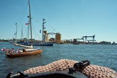 Voile baltique 2010. Photo stock