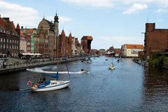 Voile baltique Danzig 2009. Image libre de droits