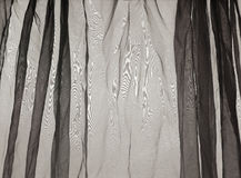 Voile curtain background gray Stock Photo