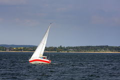voile de bateau Photographie stock libre de droits