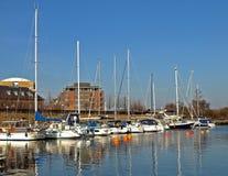 voile de bateaux Photos stock