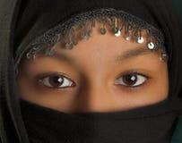 Voile noir Photos libres de droits