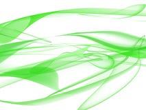 Voile vert Photos libres de droits