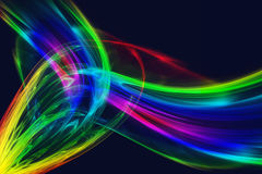 Voiles colorés Image stock