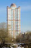 Voiles complexes résidentielles d'écarlate Photo libre de droits