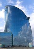 Voiles d'hôtel à Barcelone Photographie stock