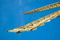 Voiles de moulin à vent Photos stock